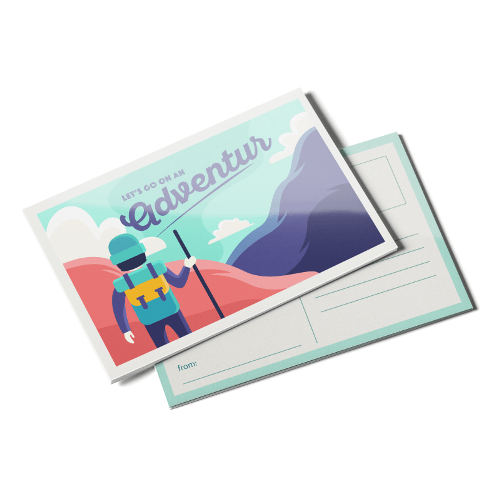 Postcards 10pt + AQ