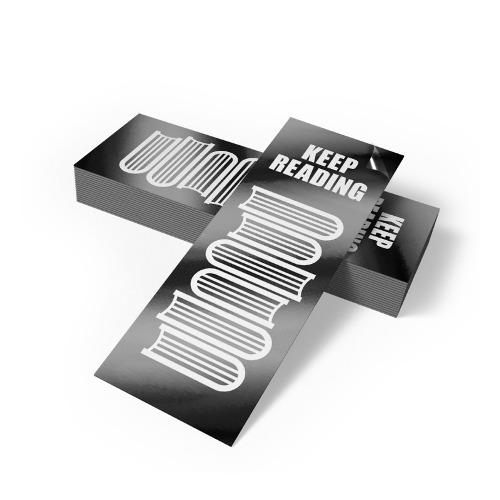 Bookmarks 16pt Matte / Silk Lamination
