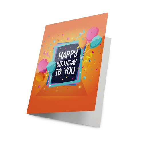 Greeting Cards 14pt + UV (High Gloss)