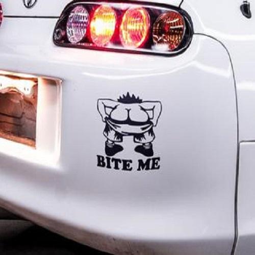 Bite Me - Japanese Domestic Market Themed Die Cut